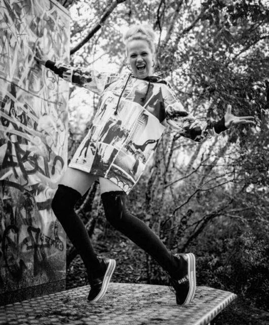 Tanssinopettaja Minna Huunonen