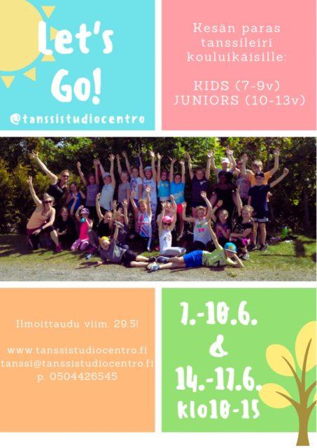 Kesän tanssileiri lapsille ja nuorille Turussa